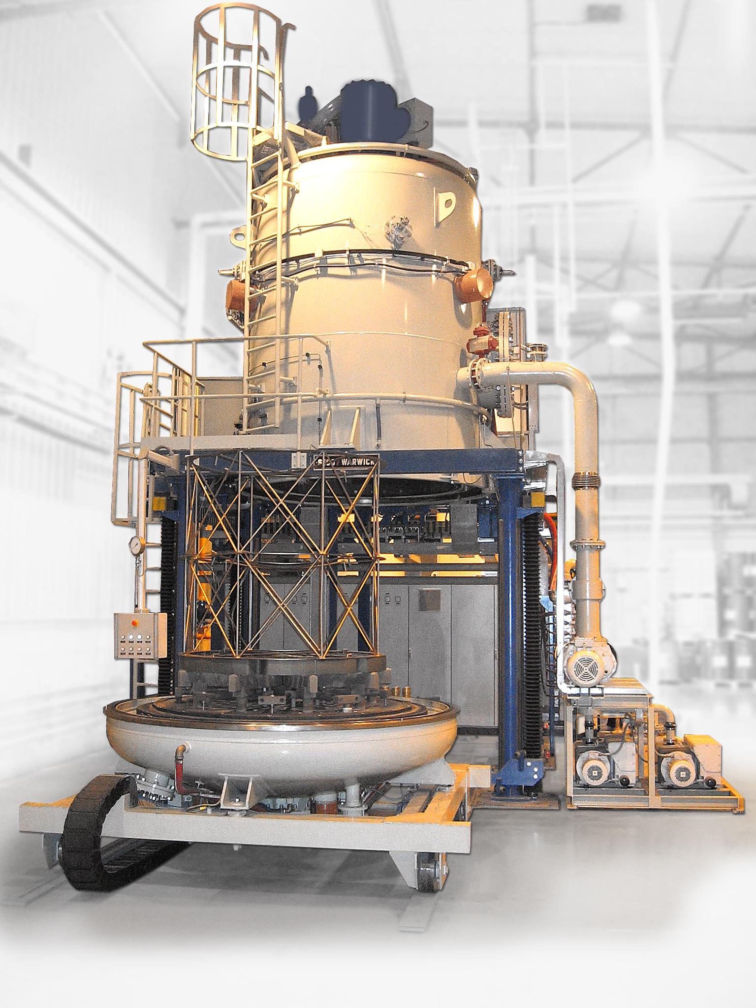 Vacuum Brazing Furnace made by SECOWARWICK ordered by HI TecMetal Group