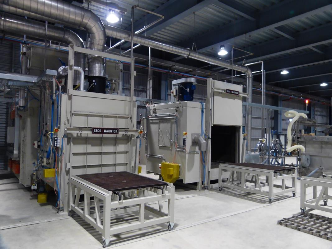 Aurora, Germany with Universal Batch CAB furnace from SECOWARWICK