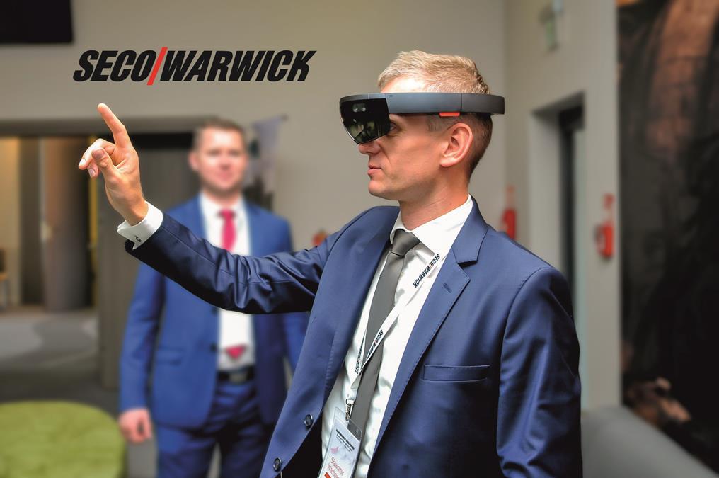 Okulary holograficzne - rozszerzona rzeczywistość AR HoloLens