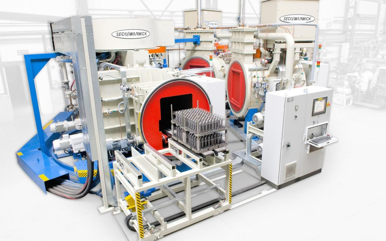 An electron beam and vacuum furnaces