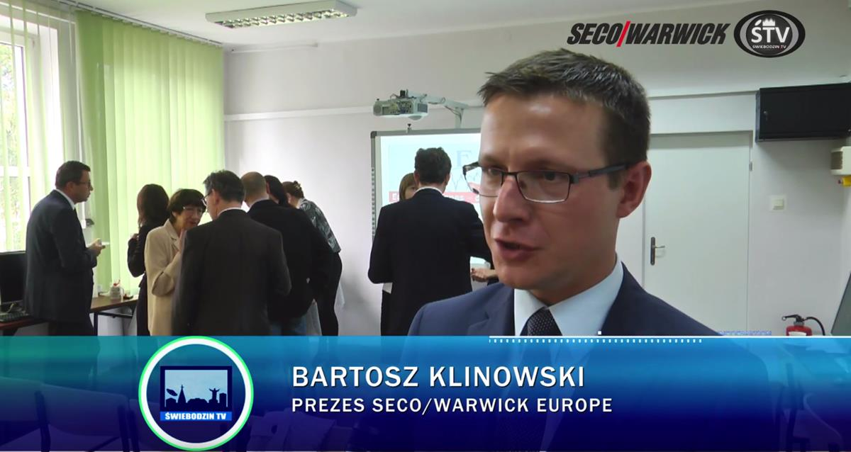 SECOWARWICK, a leader of innovations, formed a relationship with ZSEiS in Zielona Góra