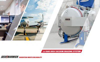 Héroux-Devtek zakupił nowy system próżniowy od SECO/WARWICK do swojego zakładu w Scarborough, Ontario