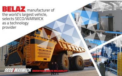 BELAZ, manufacturer of the world's largest vehicle, selects SECO/WARWICK as a technology provider