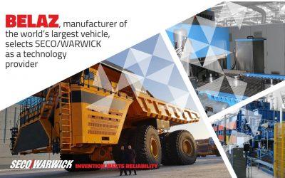 БЕЛАЗ, производитель самого мощного в мире карьерного транспорта, выбирает SECO/WARWICK в качестве поставщика технологий