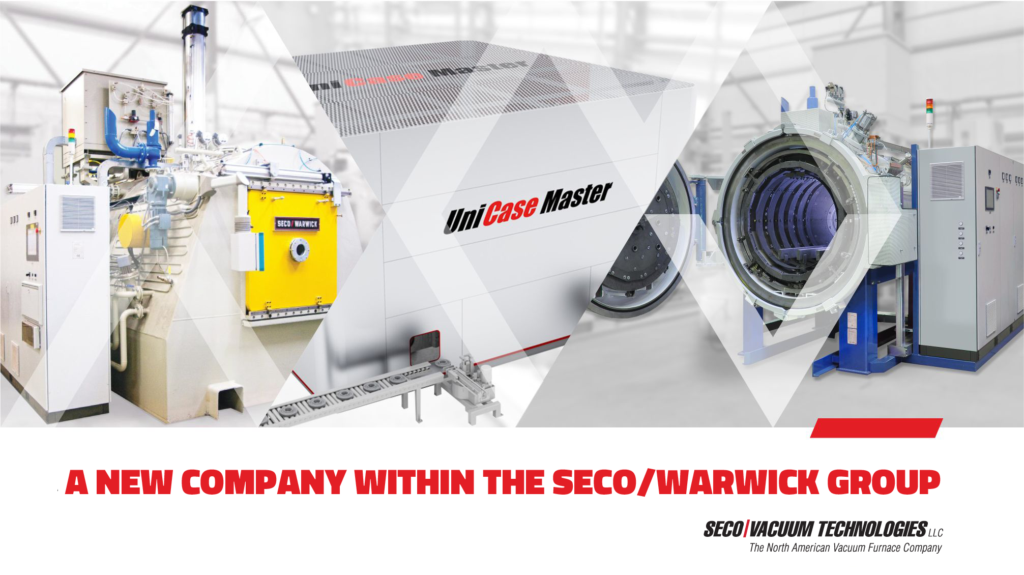Introducing SECO/Vacuum Technologies, the new North American Vacuum Furnace Company