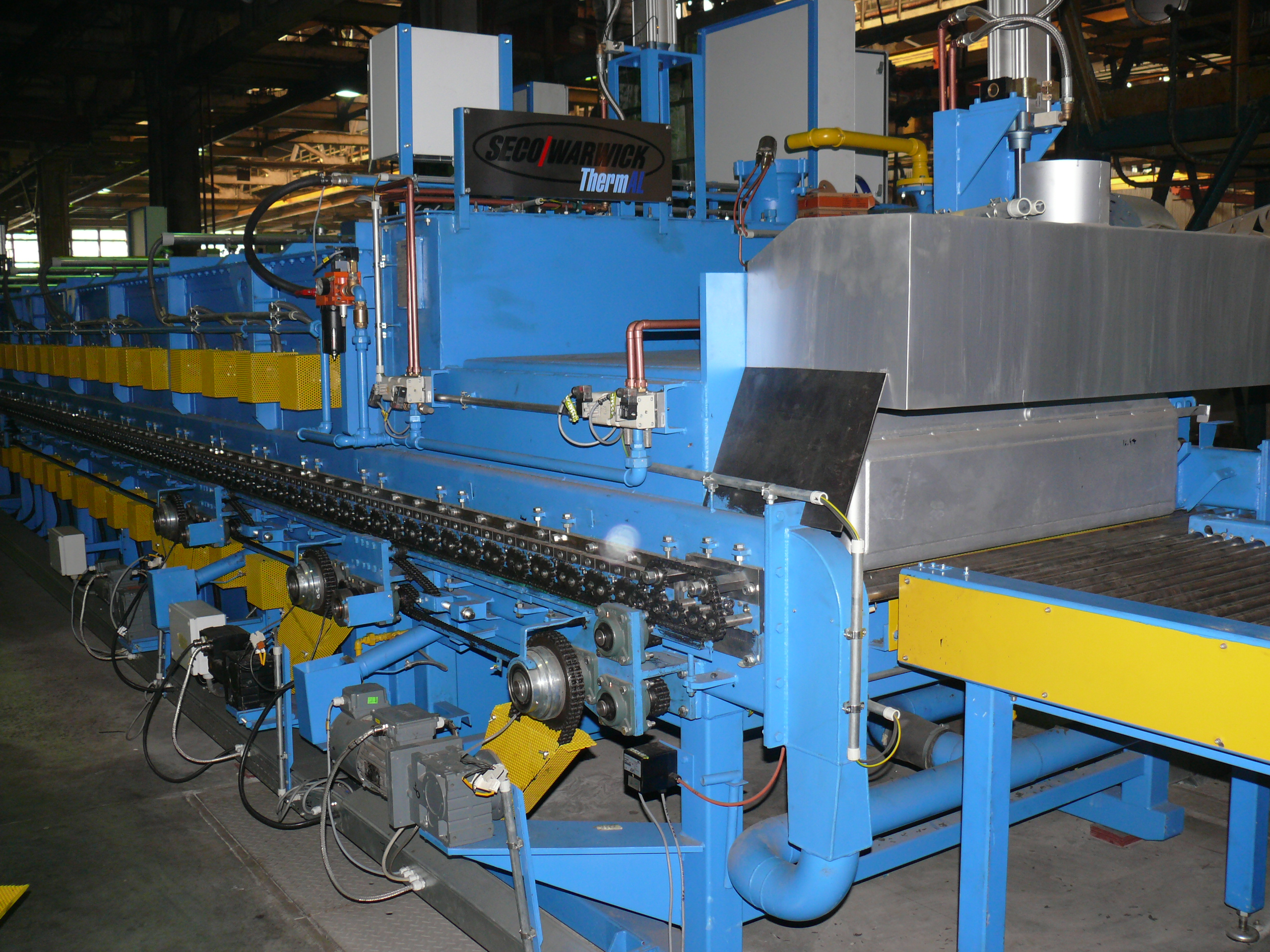 Roller hearth furnace processing line in Ukraine commissioned