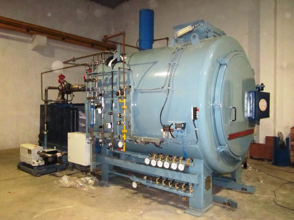 SECO/WARWICK commissioned ferritic nitrocarburising furnace