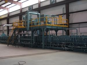 Roller Hearth Furnace System for tube and pipe annealing