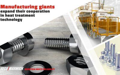 Гиганты производства расширяют сотрудничество в сфере теплообрабатывающих технологий