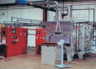 cuprobraze furnances two chamber
