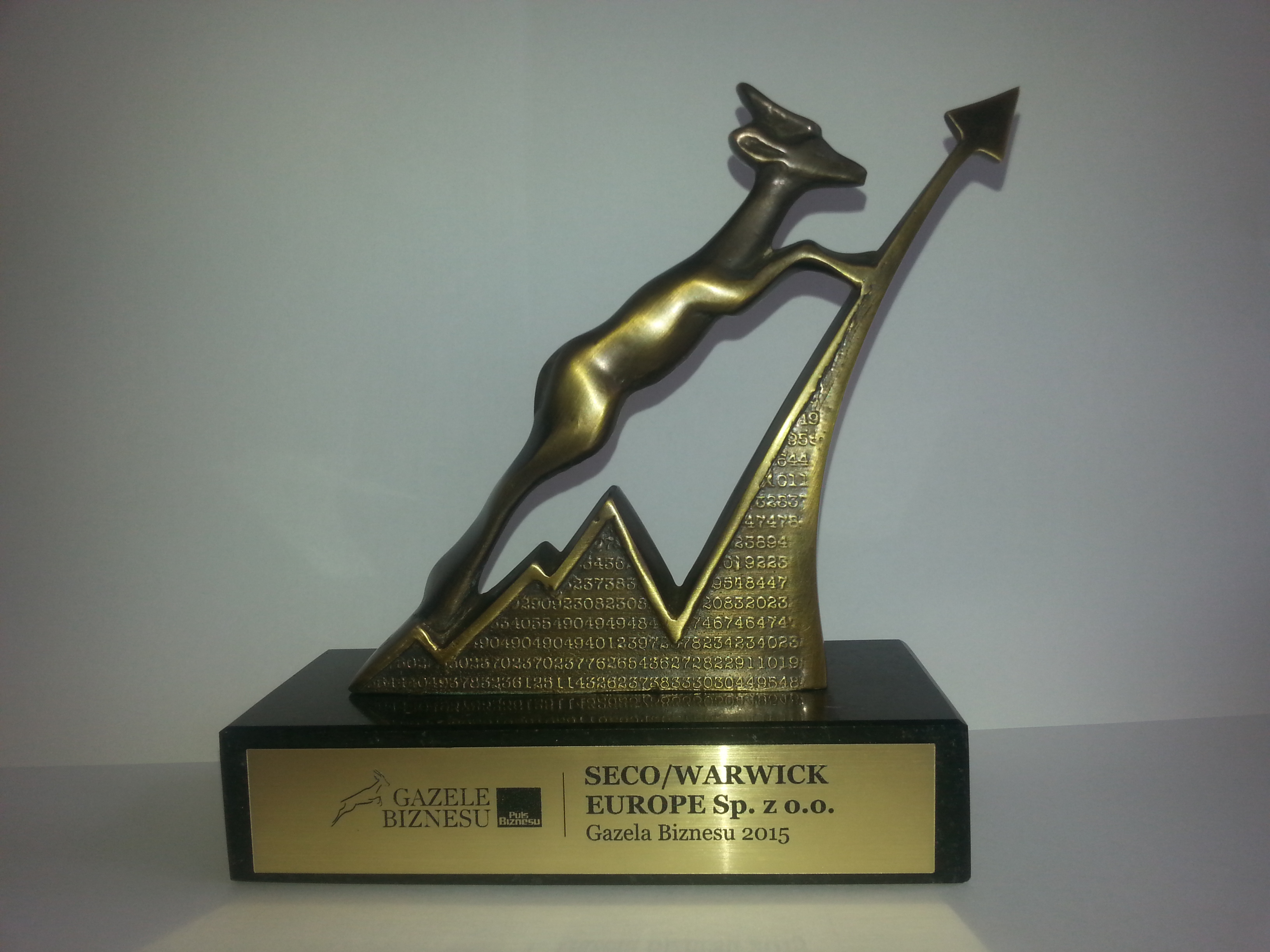 "SECO/WARWICK wins ""The Gazelles of Business"" again"