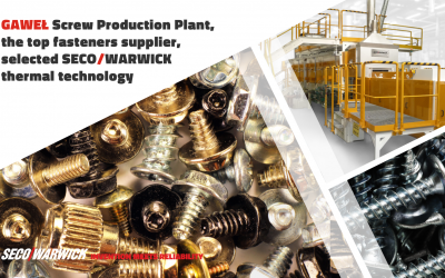 New SECO/WARWICK line for hardening and carbonitriding will increase the production capacity at  Gaweł Screw Production Plant