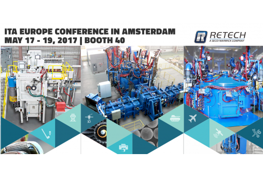 Retech Systems to Present Advancements Relating to the Production of Gamma-Titanium Aluminide Ingots and Powder at the ITA Europe Conference in Amsterdam