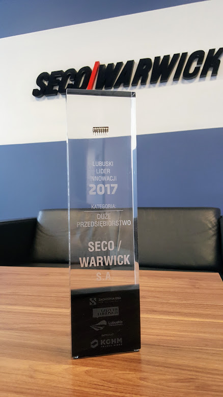 Statue of Lubuski Lider Innowacji Award
