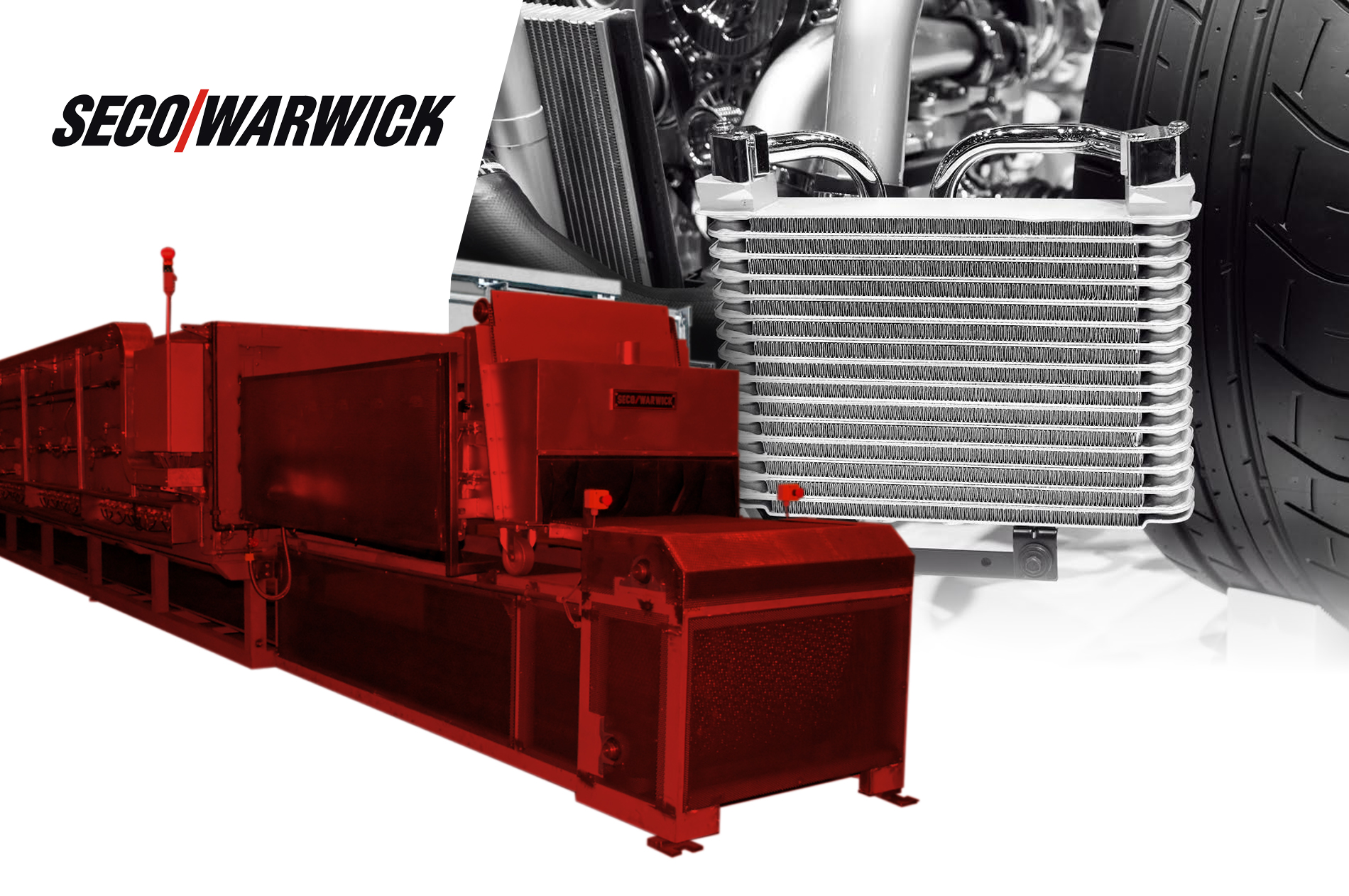 SECOWARWICK ATMOSPHERE BRAZING LINES BATTERY COOLERS