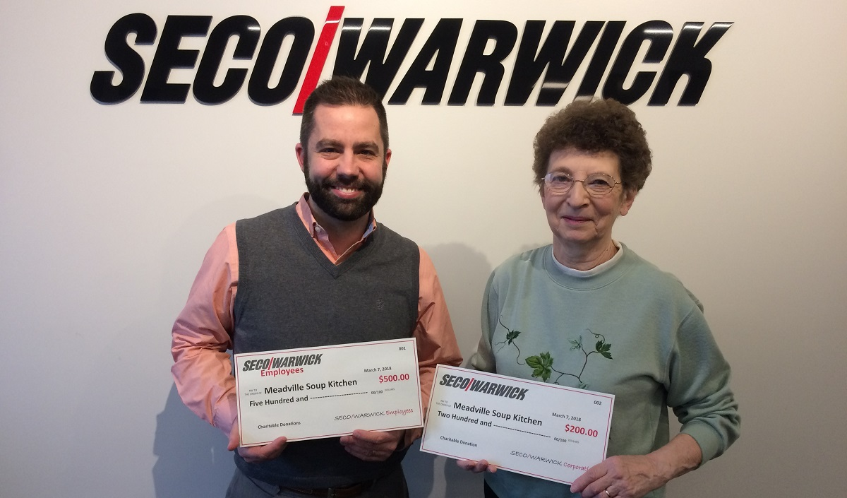 SECOWARWICK Local Charity Donation