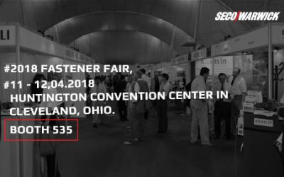 Superior quench hardening performance is required for fast, economical, uniform heat treating of small parts. Learn more at Fastener Fair – you are invited!