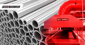 One of the leading tube manufacturers in India strengthen its manufacturing base with SECO/WARWICK roller hearth tube heat treatment furnace