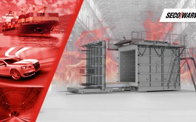 Manufacturers of construction materials invest in SECO/WARWICK's fire resistance test furnaces