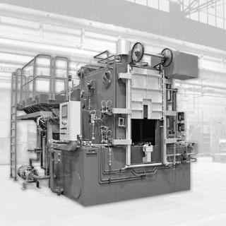Piec przemysłowy do obróbki cieplnej w atmosferze