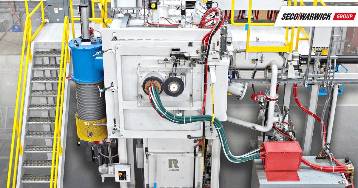 System metalurgii próżniowej VIM