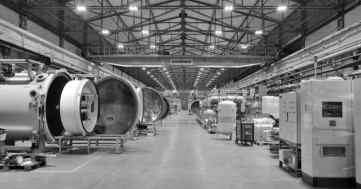 SECO/WARWICK heat treatment furnaces