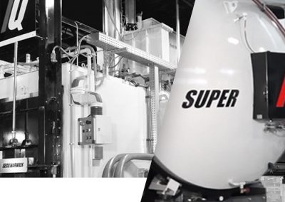 SuperIQ universal chamber furnace for carburizing and quenching steel