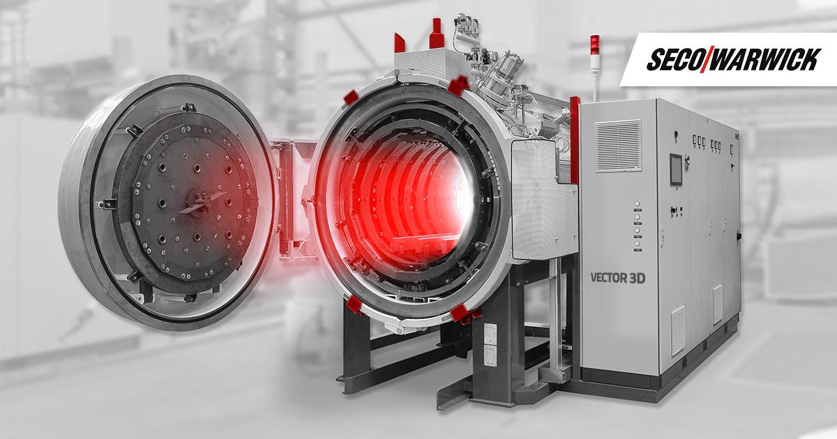 Wyższa jakość wydruków 3D dzięki obróbce w próżniowym piecu Vector