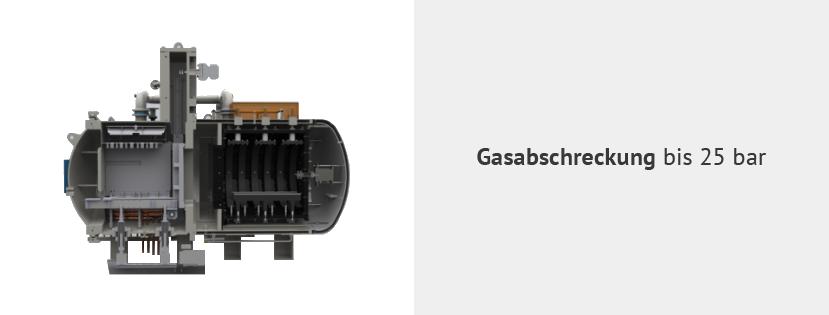 Gasabschreckung bis 25 bar