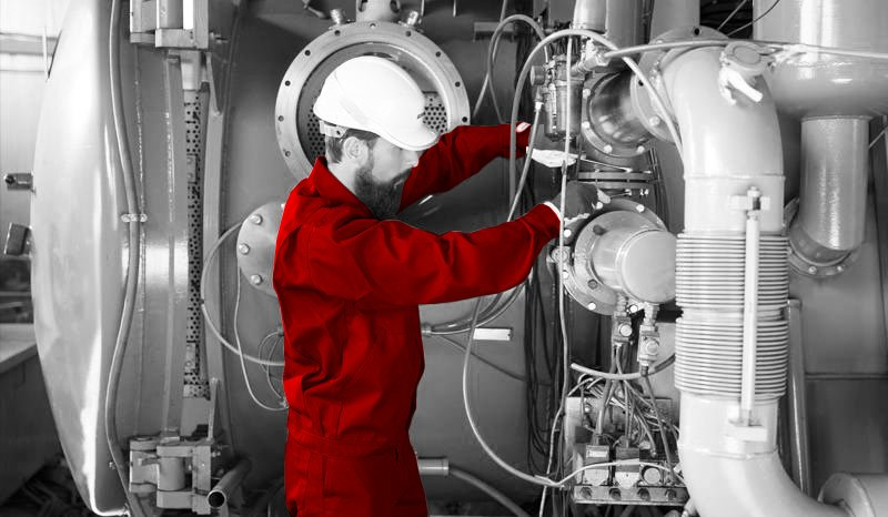 Repairs and modernisation of industrial furnaces