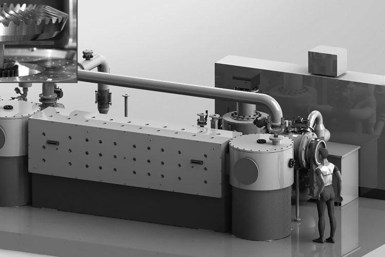 Вакуумная система для индивидуальной закалки деталей