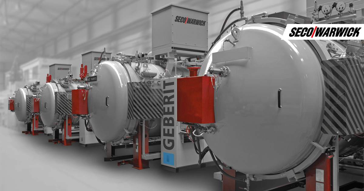 GEBERIT adds two unique SECO/WARWICK vacuum annealing furnaces