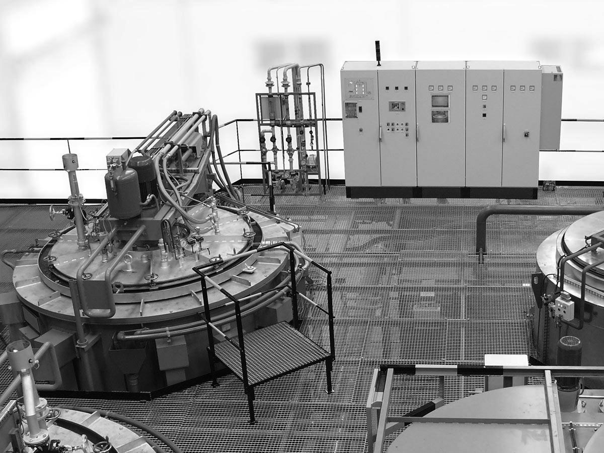 Carburizing pit furnace PGGat 1000 - 18x30