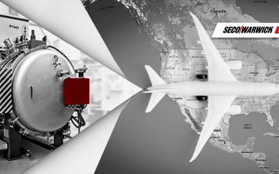 Światowy producent z branży lotniczej zamawia piec Vector® od SECO/WARWICK