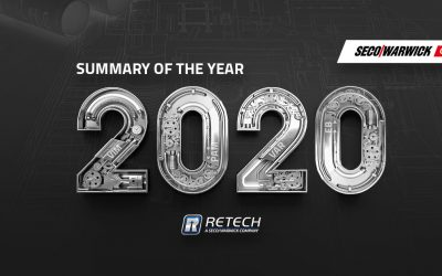 Retech – a global supplier of vacuum metallurgy solutions experiences a banner year