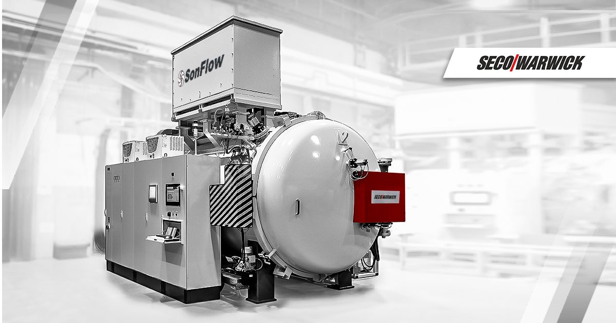 SonFlow, the Scandinavian manufacturer of heat exchangers, selects  SECO/WARWICK vacuum furnace technology