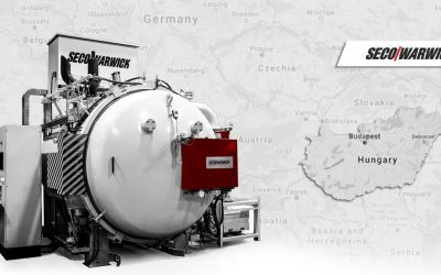 Hungary gets from SECO/WARWICK the largest high pressure vacuum furnace in a country.