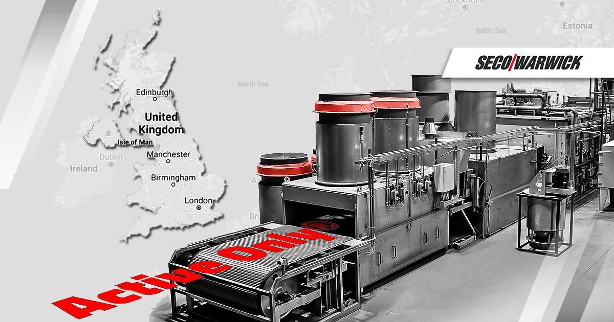 Linia CAB Active Only® od SECO/WARWICK w brytyjskich zakładach producenta przemysłowych wymienników ciepła