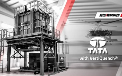 SECO/WARWICK to deliver a technologically advanced rapid quench production line for TATA Advanced System Ltd.