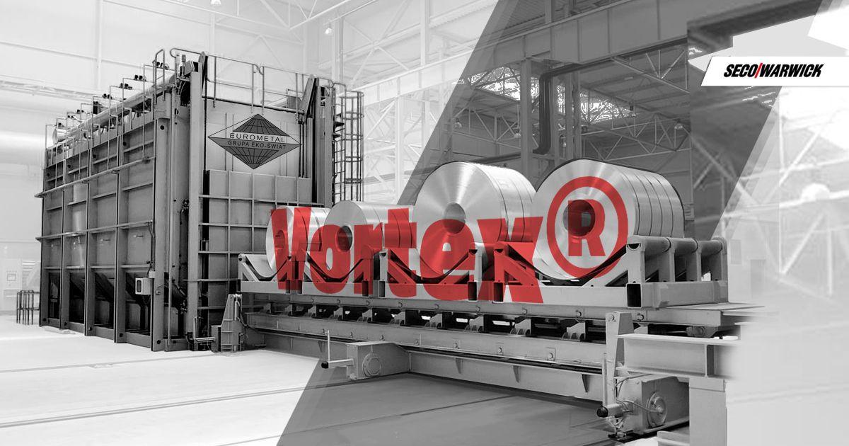 Третья печь SECO/WARWICK для европейского алюминиево-прокатного завода