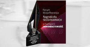 Награда компании «SECO/WARWICK» в категории «Инновации»