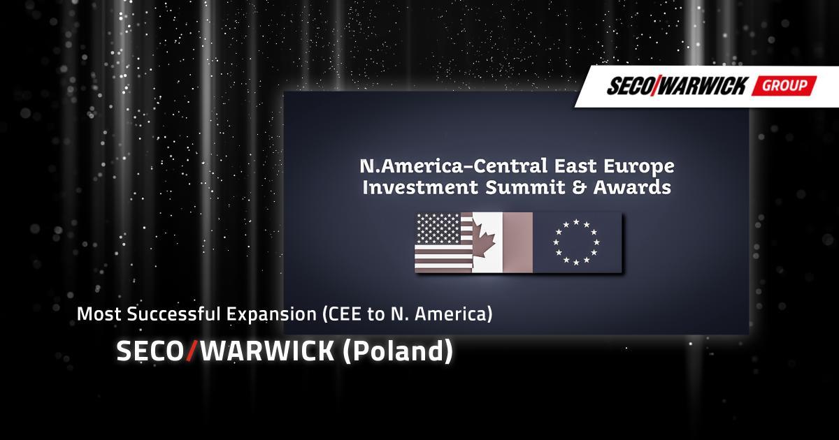SECO/WARWICK Group U.S. Expansion Rewarded