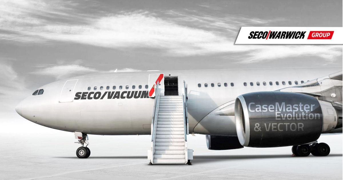 Producent lotniczych elementów sterujących inwestuje w nowy piec do odpuszczania SECO/VACUUM