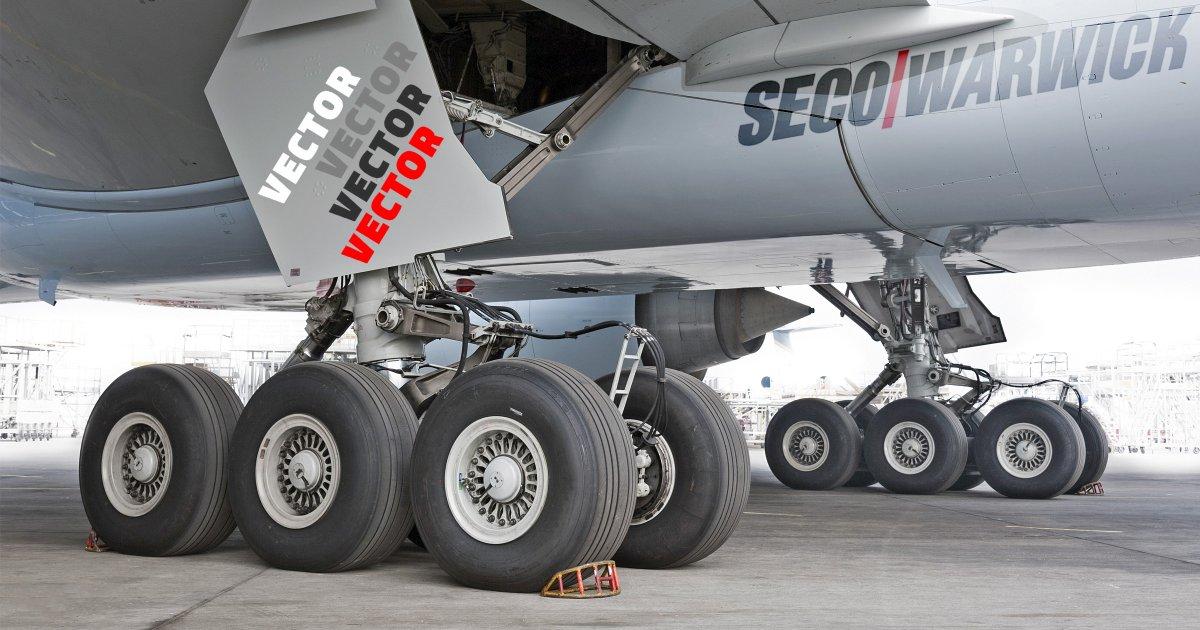 SECO/WARWICK hält das Patent für das Härten von Flugzeugstahl