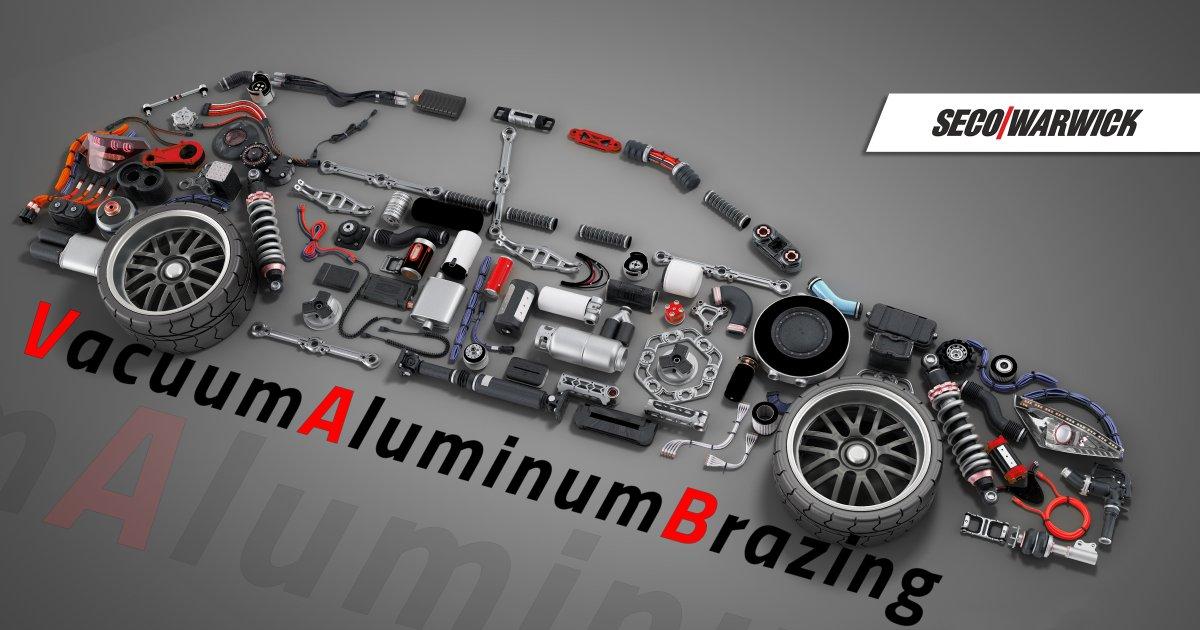Печь для пайки алюминия в вакууме для автомобильной промышленности от SECO/WARWICK