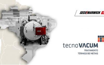 SECO/WARWICK furnace reaches the Brazilian commercial heat treater, Tecnovacum, through a unique collaboration