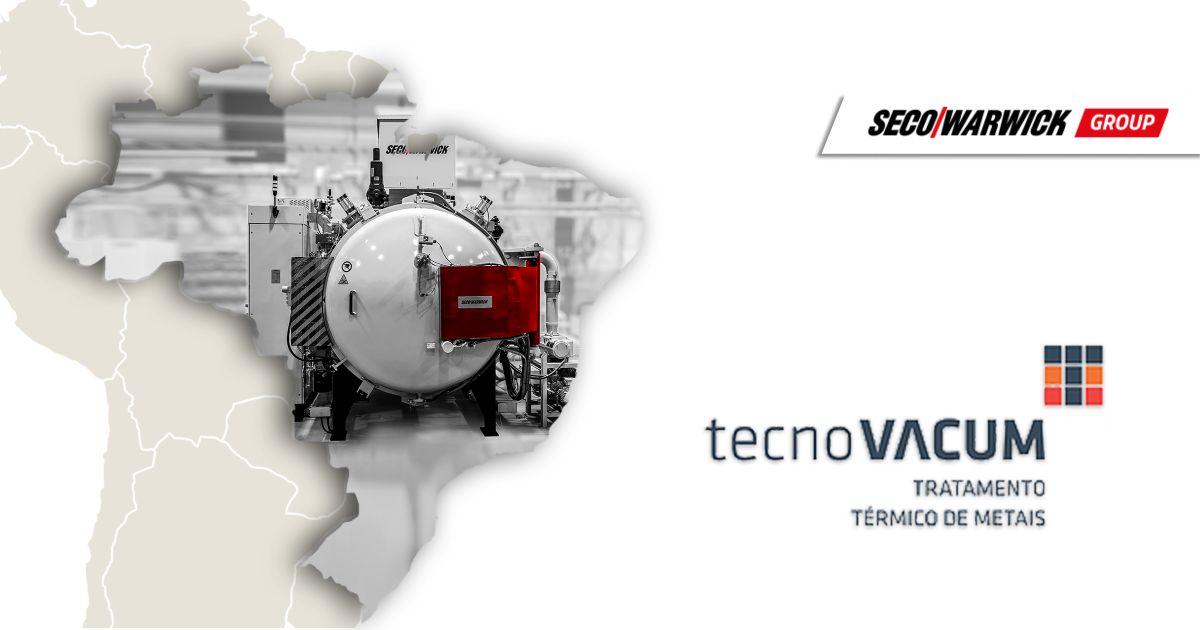 Вакуумная печь SECO/WARWICK уже находится на бразильском предприятии Tecnovacum